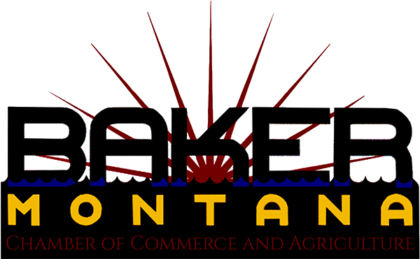 Chamber of Commerce Member Baker, MT Logo