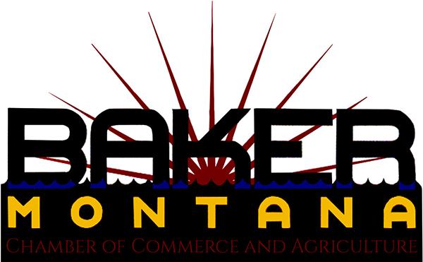 Chamber of Commerce Member Baker, MT Logo